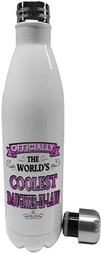 750ml Officially The Worlds Coolest (Female Relation) Pink